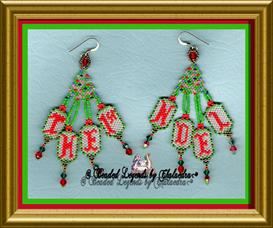 First Noel Earrings | eBooks | Arts and Crafts