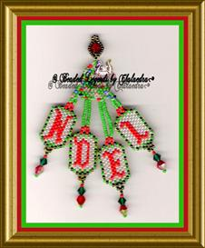 Noel Ornament | eBooks | Arts and Crafts