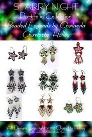 Starry Night Earring Portfolio | eBooks | Arts and Crafts