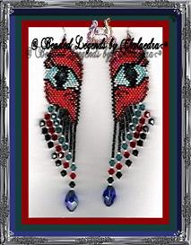 Dragon Eyes Earrings | eBooks | Arts and Crafts