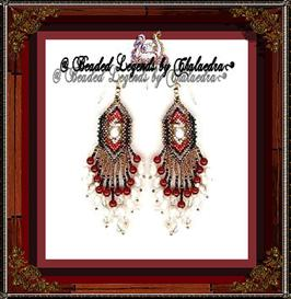 Midnight Meditation I Earrings | eBooks | Arts and Crafts