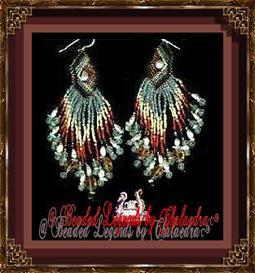 Midnight Meditation II Earrings | eBooks | Arts and Crafts