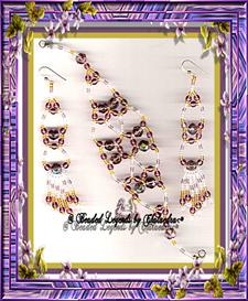 Exotica Bracelet and Earrings Set | eBooks | Arts and Crafts