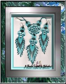 Filigree Necklace and Earrings Set | eBooks | Arts and Crafts