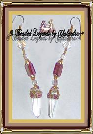 Simple Purple Earrings | eBooks | Arts and Crafts