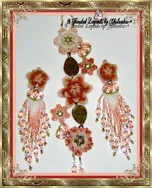 Garden of Dreams Bracelet and Earrings Set | eBooks | Arts and Crafts