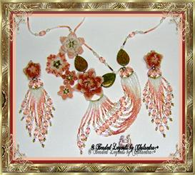 Garden of Dreams Necklace and Earrings Set | eBooks | Arts and Crafts