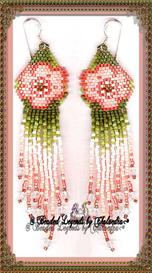 Pastel Flax Earrings | eBooks | Arts and Crafts