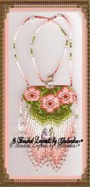 Pastel Flax Necklace | eBooks | Arts and Crafts