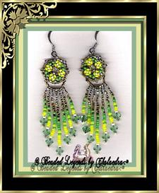 Four Flower Cluster Earrings | eBooks | Arts and Crafts