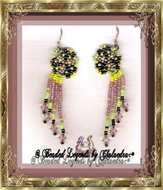 Three Flower Cluster Earrings | eBooks | Arts and Crafts