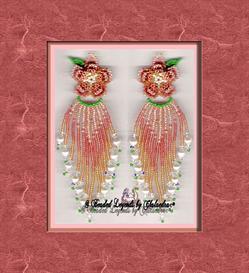 Beaded Irish Rose Earrings | eBooks | Arts and Crafts