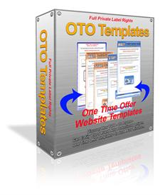 5 One Time Offer Website Templates PLR | Other Files | Patterns and Templates