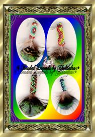 Beaded Feather Earrings | eBooks | Arts and Crafts
