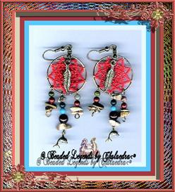 Small Dream Catcher Earrings | eBooks | Arts and Crafts