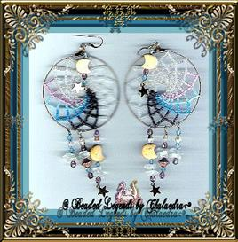 Large Dream Catcher Earrings | eBooks | Arts and Crafts
