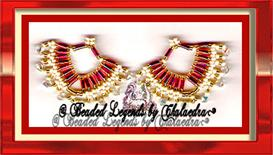 Festive Shawl Earrings | eBooks | Arts and Crafts