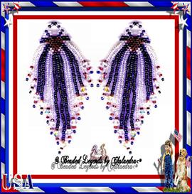 Love the Red White and Blue Earrings | eBooks | Arts and Crafts