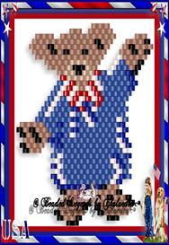 Patriotic Teddy   eBooks   Arts and Crafts