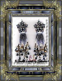 Extra-Dimensional Star Earrings | eBooks | Arts and Crafts