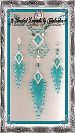 Caribbean Mist Necklace and Earrings Set | eBooks | Arts and Crafts