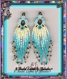Turquoise O Earrings | eBooks | Arts and Crafts