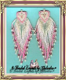 Pink Heart Earrings | eBooks | Arts and Crafts