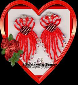 Filigree Heart Earrings | eBooks | Arts and Crafts