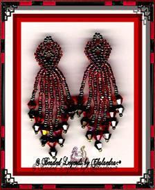 Red Heart Earrings | eBooks | Arts and Crafts