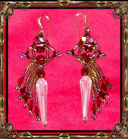 Skirted Sword Earrings | eBooks | Arts and Crafts
