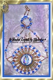 Queens Crystal and Baguette Necklace | eBooks | Arts and Crafts