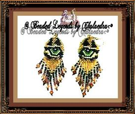 Leopard Earrings | eBooks | Arts and Crafts