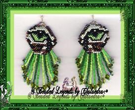 Tiger Earrings | eBooks | Arts and Crafts