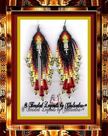 Glowing Candles Earrings | eBooks | Arts and Crafts