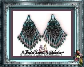 Egyptian Lotus Variation Earrings | eBooks | Arts and Crafts