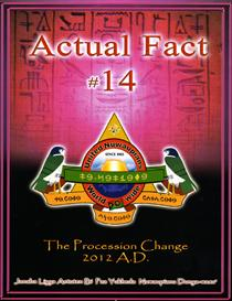actual fact 14 the procession change 2012 a.d.