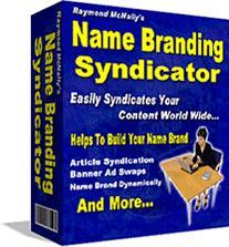 Name Branding Syndicator | eBooks | Internet