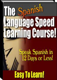 the spanish language speed-learning course