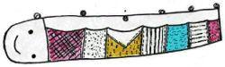 Snake Wall Pocket Pattern | eBooks | Arts and Crafts