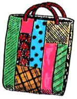 Easy Scrap Tote Bag Pattern | eBooks | Arts and Crafts