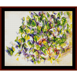 Foliage - Cezanne cross stitch pattern by Cross Stitch Collectibles | Crafting | Cross-Stitch | Wall Hangings