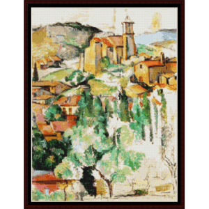 Gardan - Cezanne cross stitch pattern by Cross Stitch Collectibles | Crafting | Cross-Stitch | Wall Hangings