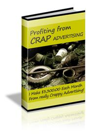 How to Profit from Crap Advertising | eBooks | Internet