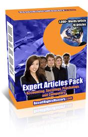 Expert Articles Pack | eBooks | Business and Money
