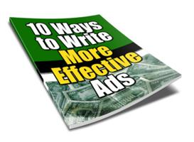10 Ways to Write More Effective Ads | eBooks | Business and Money