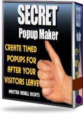 Secret Popup Maker   eBooks   Internet