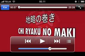 chi ryaku no maki with mats hjelm