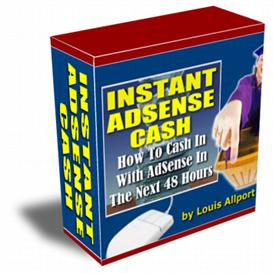 Instant Adsense Cash | eBooks | Business and Money