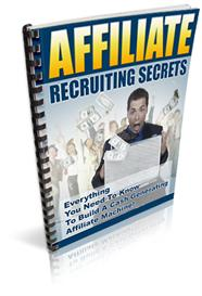 Affiliate Recruiting Secrets | eBooks | Business and Money