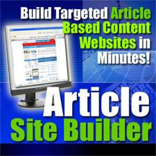 Article site Builder | eBooks | Internet
